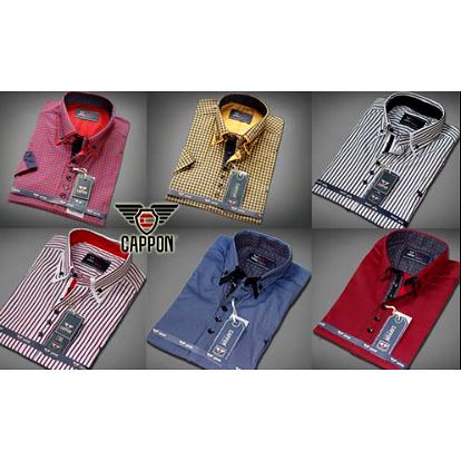 Elegantní pánské košile značky CAPPON