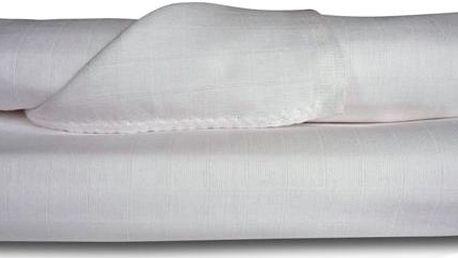 Libštátské pleny Dětská bavlněná plena/osuška, 90x100 cm, bílá, 2 ks