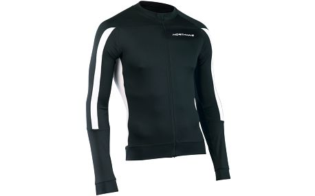 Northwave Sonic Long Sleeves Black/White, černá, L
