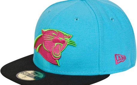 New Era Neoncrown Carolina Panthers Modrá, modrá, 7 1/8