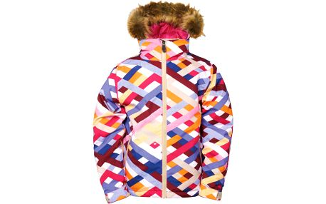 686 Girls Authentic Rhythm Jacket, bílá, 140