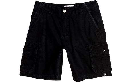Quiksilver THE Deluxe Short Anthracite, černá, 36