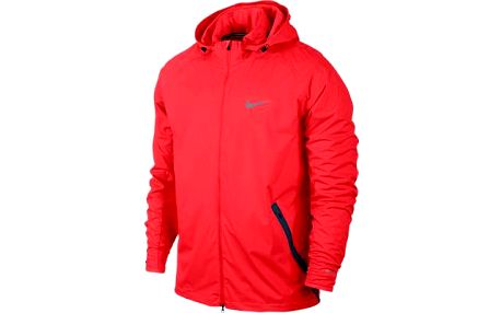 Nike Shield Light Jacket Bright Crimson/Reflective W, červená, L