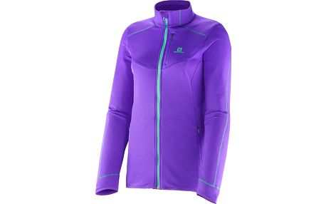 Salomon Minim Midlayer W, fialová, 34