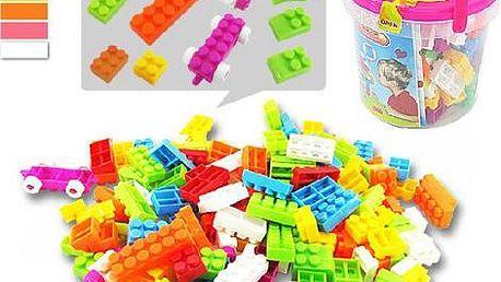 Dětské plastové kostky - 100 kusů
