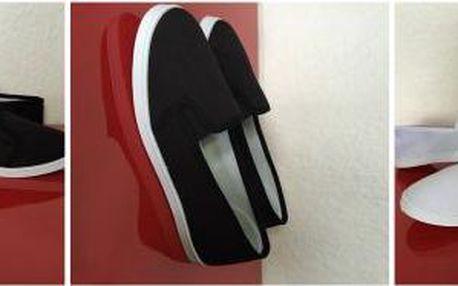 Dámské SLIP ON baleríny na léto! Na výběr černé a bíle ve velikostech 36 až 41!