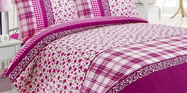 Povlečení Pelin Pink, 200x230 cm
