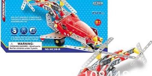 Stavebnice Intelligent DIY model letadlo