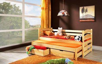 Rozkládací postel s přistýlkou Ramon