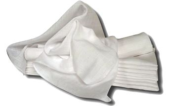 Libštátské pleny Dětská bavlněná plena, 70x70 cm, bílá, 10 ks