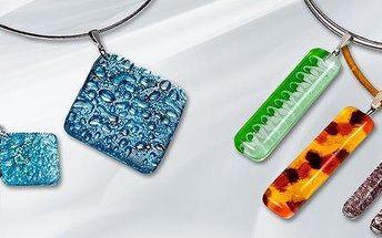 Originální skleněné šperky WAGA