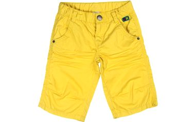 Chlapecké bermudy - žluté