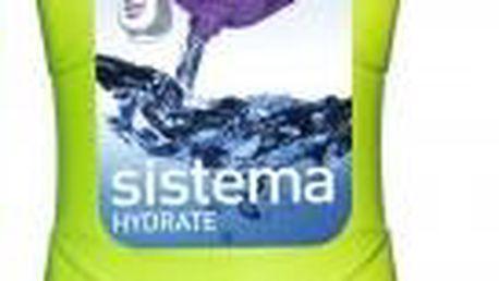 Lahvička Hourglass Bottle 645 ml zelená