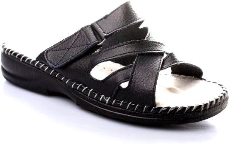 Pantofle na suchý zip SLL141201B