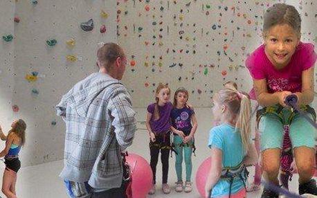 Příměstský lezecký tábor pro děti od 6 do 15 let