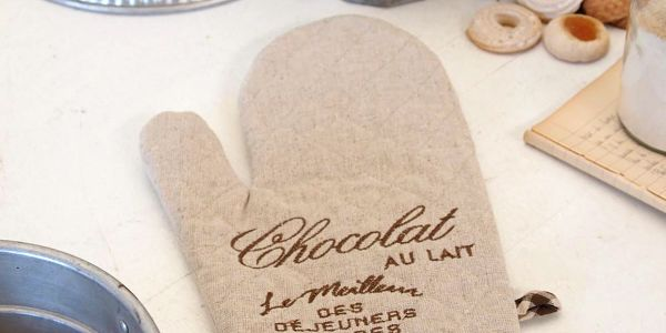Kuchyňská chňapka Chocolat Ecru
