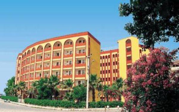 Turecko, oblast Alanya, doprava letecky, polopenze, ubytování v 3* hotelu na 8 dní