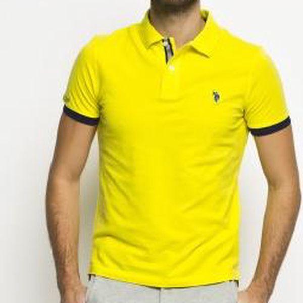 U.S. POLO - Polo - žlutá, S