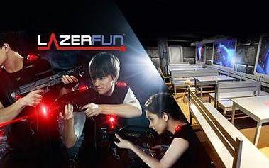 LASER GAME až pro 8 osob již od 79 Kč! Nová AZTÉCKÁ ARÉNA LazerFun na Praze 9! 1 hra = 12 min. adrenalinu.