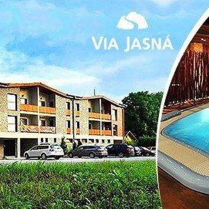 Luxusní letní rodinná dovolená v apartmánech Via Jasná ****. Děti do 12 let zdarma.