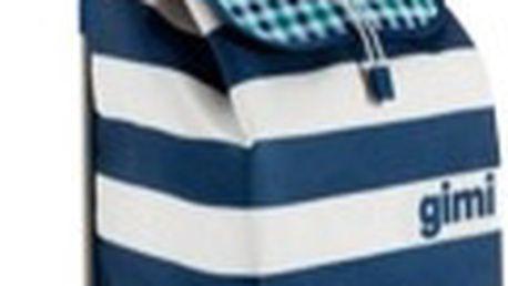 GIMI ITALO 52 l nákupní taška, modrobílá