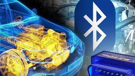 Bluetooth diagnostika motoru: Praktické zařízení do garáže i na cesty