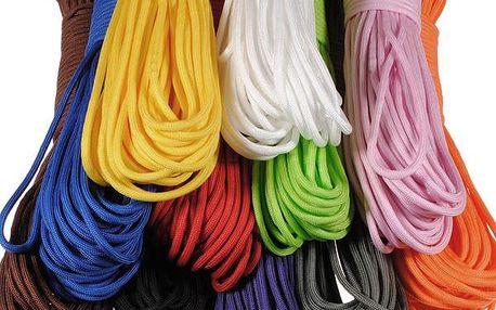Outdoorové nylonové lano - 11 barev