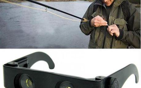 Brýle s dalekohledem a lupou!
