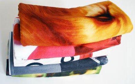 Originální dárek: Foto osuška s vlastním potiskem