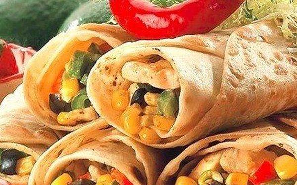 2x Mexická tortila dle výběru