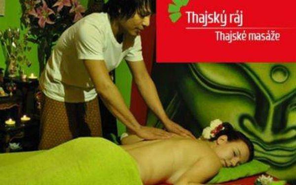 Fantastické masáže v Thajském ráji s rodilými Thajkami
