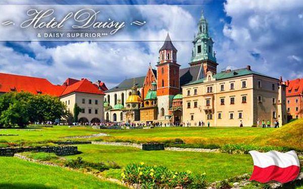 Tři dny v Krakově s neomezeným vstupem do bazénu