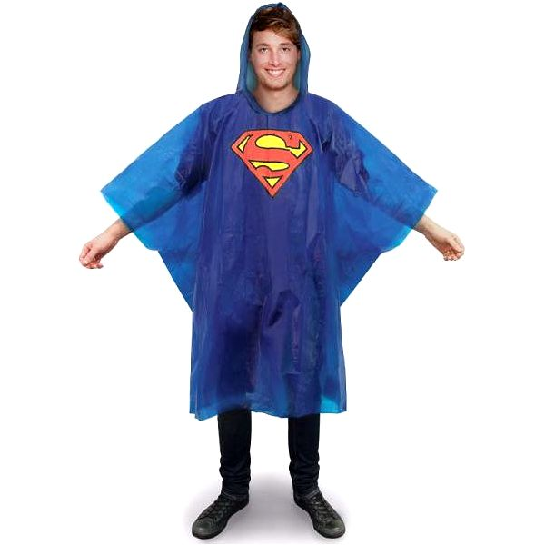 Pláštěnka pončo Superman!
