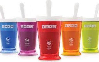 Vytvořte si ledovou tříšť a mléčné koktejly během chvilky! S unikátní lahví Zoku to bude hračka. Stačí lahev uchovat v mrazničce a výborné nápoje máte během chvilky hotové.