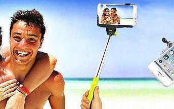 Teleskopický set pro selfie fotky