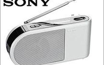 Přenosné rádio SONY