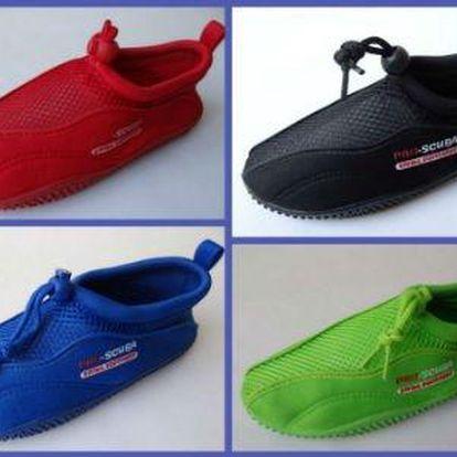 Profi boty do vody Pro- Scuba v dětských, dámských i pánských velikostech
