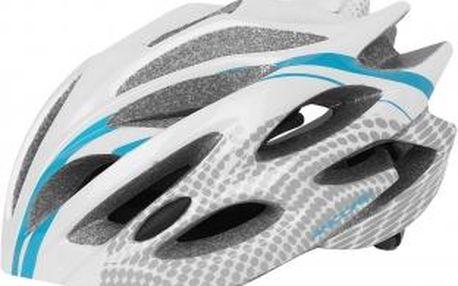 Cyklistická přilba Arcore BLAST bílá/modrá