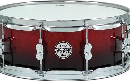Snare bubínek PDP Concept Maple Snare Red to Black Fade