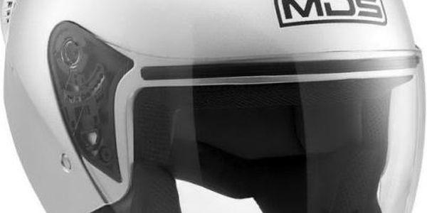 MDS přilba G240 stříbrná vel.L (59-60cm)