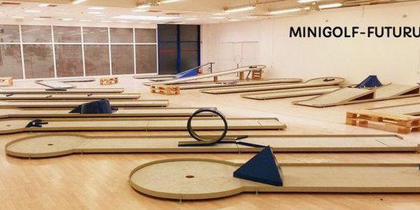 Indoor Minigolf v OC Futurum Brno