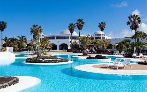 Kanárské ostrovy, oblast Lanzarote, doprava letecky, polopenze, ubytování v 3* hotelu na 8 dní
