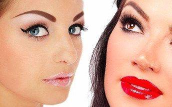 Permanentní make-up s přirozeným vzhledem - 3D ruční vláskování obočí