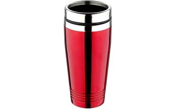 Termohrnek nerez 425 ml, červená RENBERG RB-3022cerv