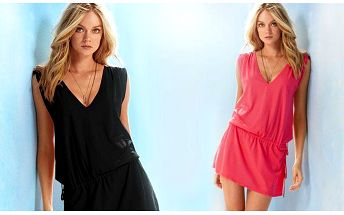 Ideální šaty na horké léto ve čtyřech barvách