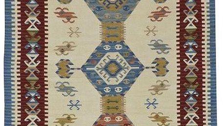 Vlněný koberec Kilim Classic AK05 Mix, 75x125 cm - doprava zdarma!