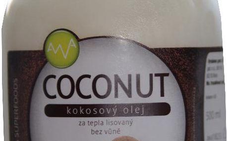 AWA superfoods Kokosový olej COCONUT 500g
