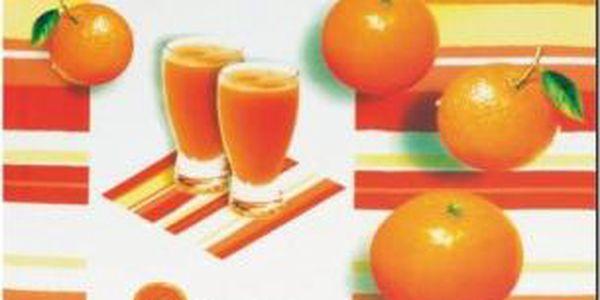 Prostírání PICTURE PP, pomeranč 43,5x28,5cm KELA KL-15078