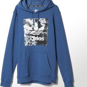 Adidas originals Burned Stamp Hd Ashblu, modrá, S