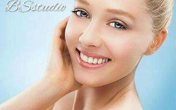 Luxusní kosmetické hodinové ošetření pleti 1+1 ZDARMA